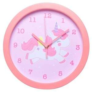Zegar dla dziecka jednorożec