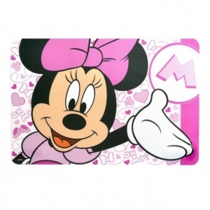 Podkładka na stół dla dzieci Myszka Minnie różowa