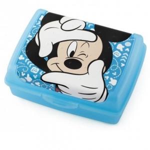 Śniadaniówka dla dziecka Myszka Minnie niebieska