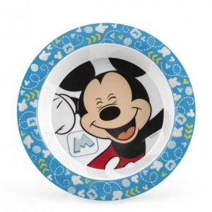 Talerzyk dla dziecka Myszka Minnie niebieski