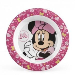 Talerzyk dla dziecka Myszka Minnie różowy