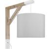 Lampa ścienna Simple czysta szarość