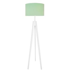 Lampa podłogowa miętowa
