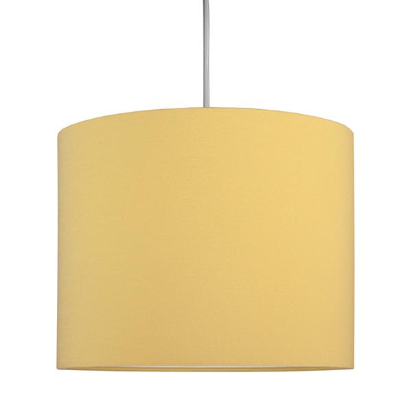Lampa sufitowa mini musztarda