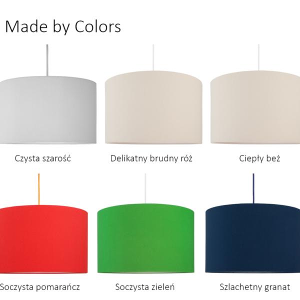 Lampa sufitowa pajączek/ kolekcja Made By Colours