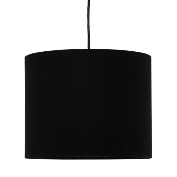 Lampa sufitowa mini czarna