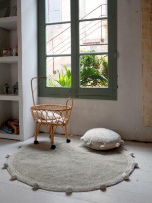 Dywan dla dziecka Bubbly Olive Natural
