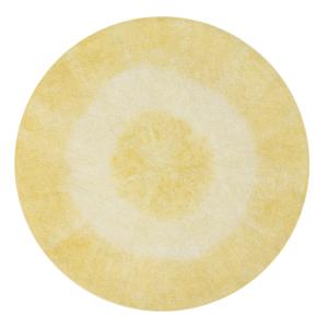 Dywan dla dziecka Tie-Dye Yellow