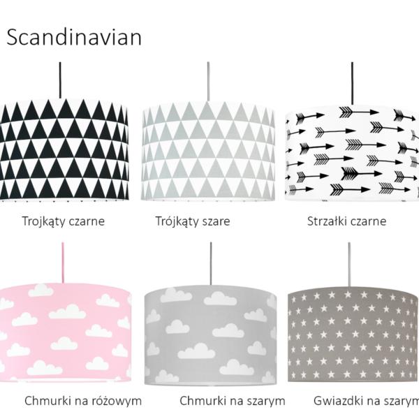 Lampa sufitowa pajączek/ kolekcja Scandinavian