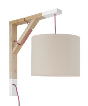 Lampa ścienna Simple ciepły beżowy