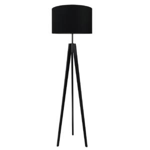 Lampa podłogowa czarna