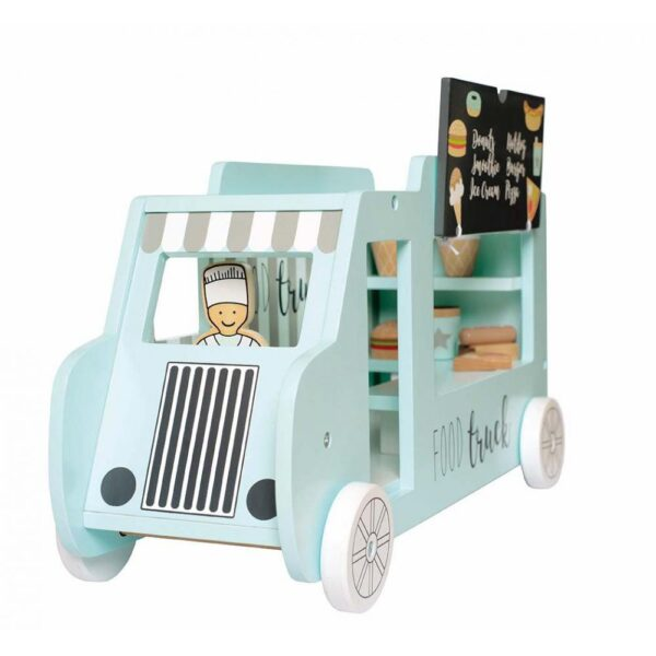 Zabawka drewniana Food truck
