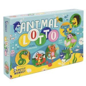Gra planszowa dla dzieci Animal Lotto