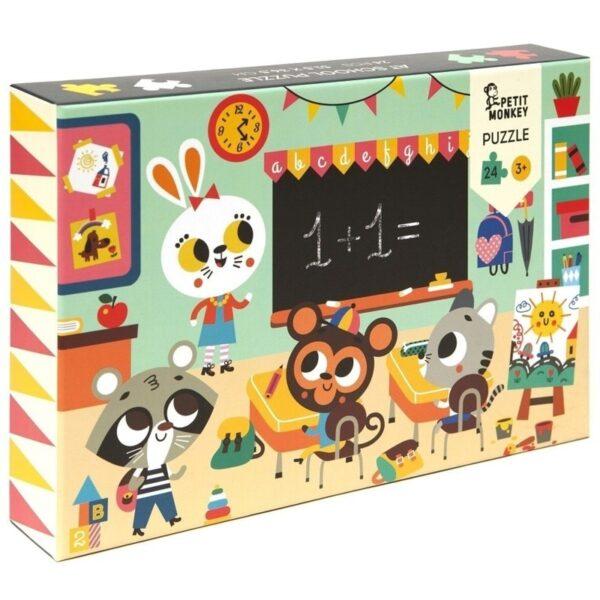 Puzzle dla dzieci Wesołe Zwierzęta