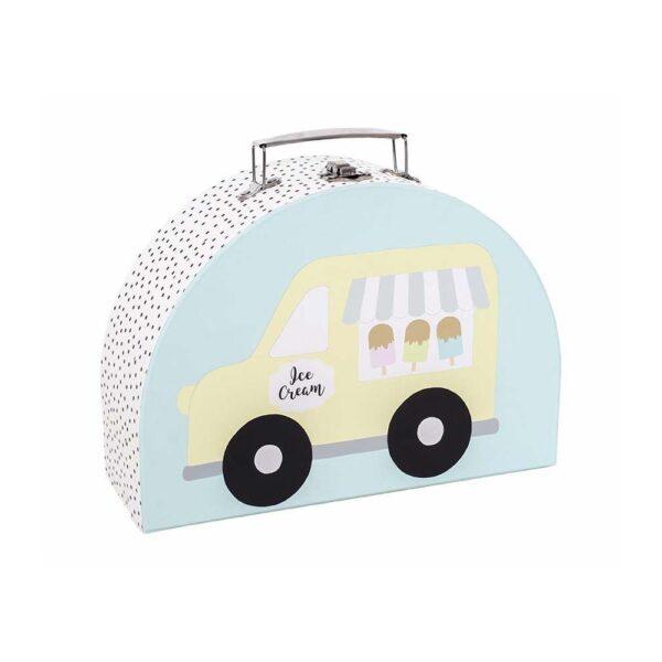 walizki lody komplet jabadabado 600x600 - Walizka dla dzieci lody 2 szt