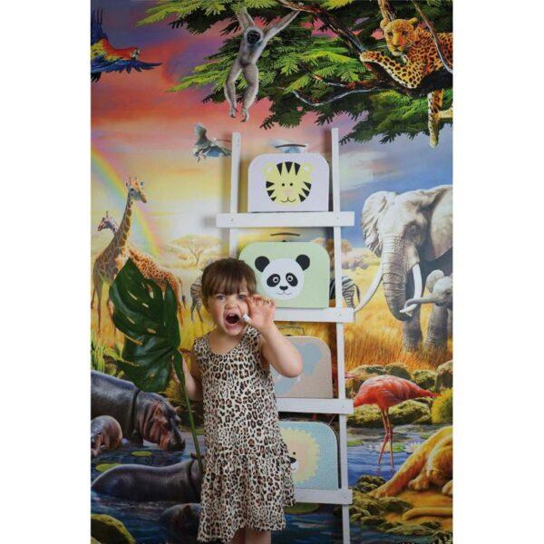 walizki panda i slon komplet safari jabadabado 3 600x600 - Walizka dla dzieci panda i słoń