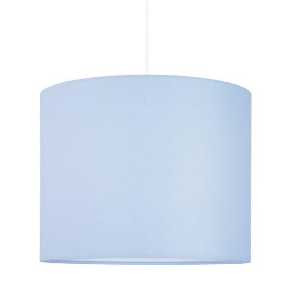Lampa sufitowa mini delikatny błękit