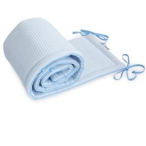 Ochraniacz do łóżeczka Cottonwaffel Power Blue