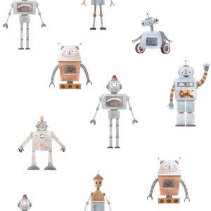Tapeta dla dzieci Robots