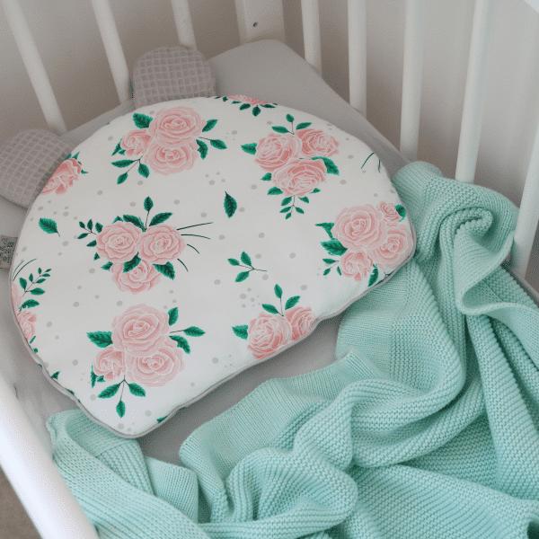IMG 6868 600x600 - Poduszka dla niemowląt Roses
