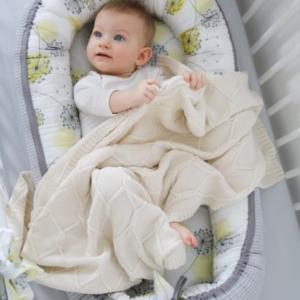 IMG 9041 2 300x300 - Kokon niemowlęcy Cottonwaffel Sunny Day
