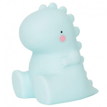 Mała lampka led dinozaur