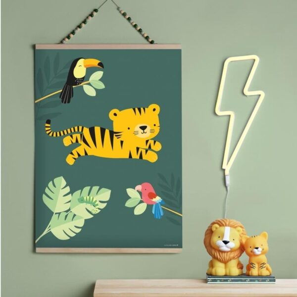 Mała lampka led tygrysek