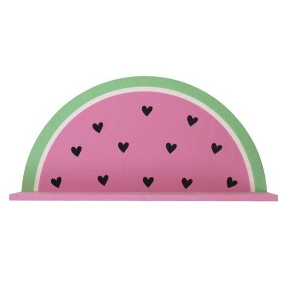 Półka na ścianę dla dzieci arbuz