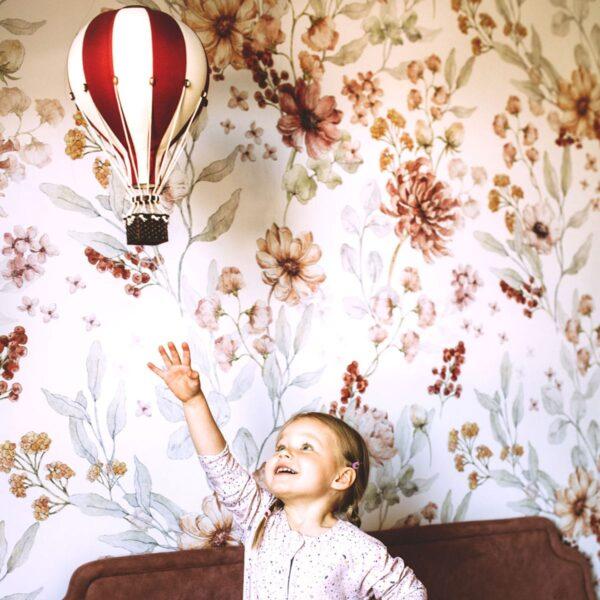 jesienna laka tapeta viz3 600x600 - Tapeta na ścianę Jesienna Łąka White