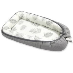 Kokon niemowlęcy bambusowy Palms&Grey