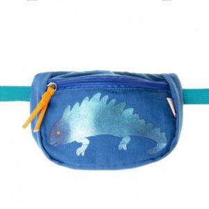 Torebka nerka dla dziecka Iggy Iguana