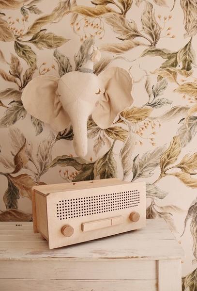 Radio retro dla dzieci zabawka