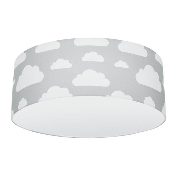 Plafon sufitowy chmurki grey