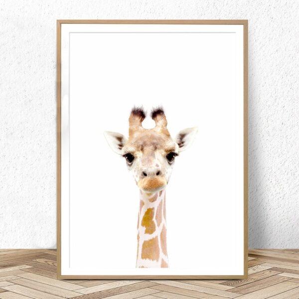 Plakat na ścianę Small Giraffe