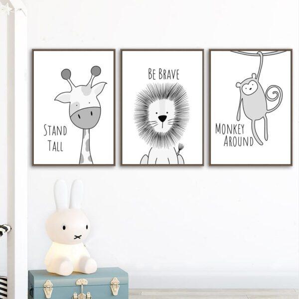 Zestaw plakatów dla dzieci