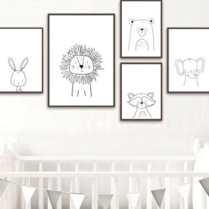 HTB18aXpuKOSBuNjy0Fdq6zDnVXaP 300x300 - Plakat na ścianę Lew Cartoon Animals