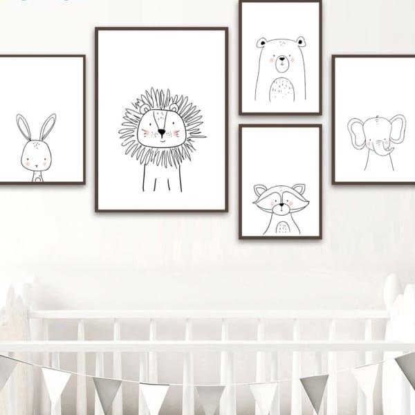 HTB18aXpuKOSBuNjy0Fdq6zDnVXaP 600x600 - Plakat na ścianę Szop Cartoon Animals