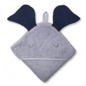 Ręcznik dla dziecka Elephant Navy
