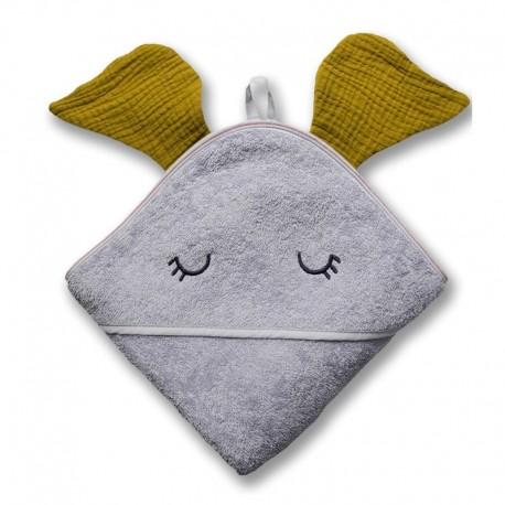 Ręcznik dla dziecka Elephant Olive