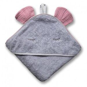 Ręcznik dla dziecka Mouse Blush
