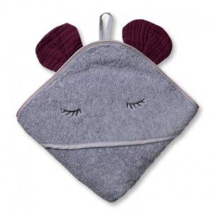 Ręcznik dla dziecka Mouse Lavender