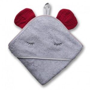 Ręcznik dla dziecka Mouse Strawberry
