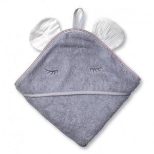 Ręcznik dla dziecka Mouse White