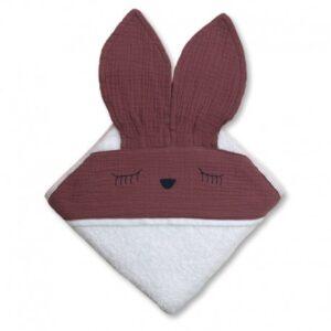 Ręcznik dla dziecka Sleepy Bunny Lavender