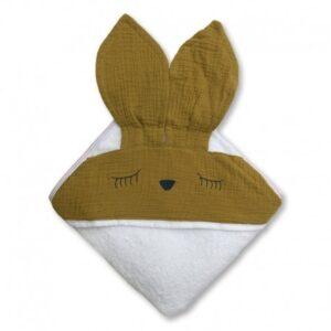Ręcznik dla dziecka Sleepy Olive
