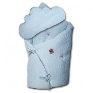 Pościel niemowlęca z poduszką Baby Blue