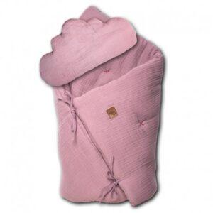 Pościel niemowlęca z poduszką Blush