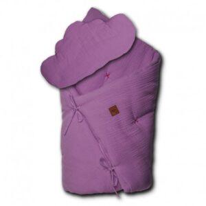 Pościel niemowlęca z poduszką Lavender
