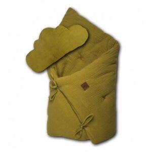Pościel niemowlęca z poduszką Olive
