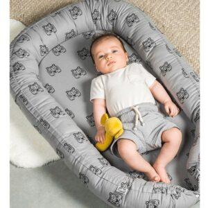 Kokon dla niemowlaka Tiger STORM GREY